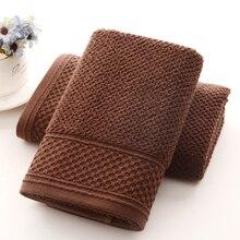 New 100% Cotton Men Honeycomb Face Hand Towel Absorbent Soft Comfortable Gym Sports Towels 32*72cm Bathroom 2pcs/set