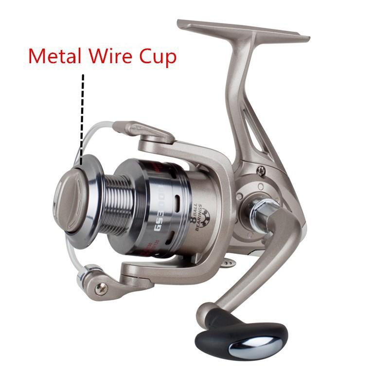 Metal Wire Cup Fishing Reel (1)