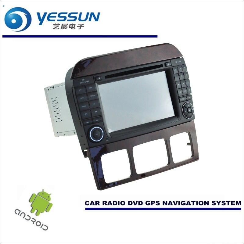 Yessun для Mercedes Benz cl55 CL63 CL65 автомобиля Android навигации Системы Радио стерео CD dvd плеер GPS Navi BT Экран мультимедиа
