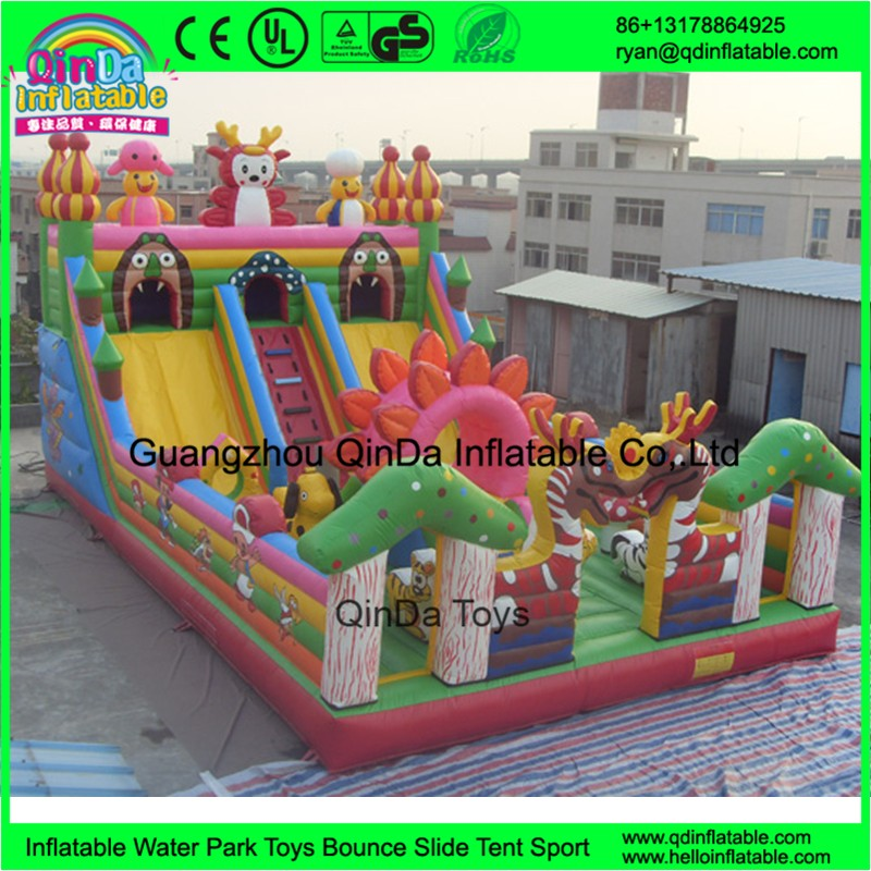 inflatable giant fun city13