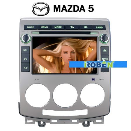 MAZDA5/MAZDA 5 Car DVD Media Player RDS Bluetooth IPOD GPS navigation