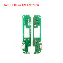 USB Charging Port Connector Dock MIC Flex Board For HTC Desire 826 826D 826W 826T(China)