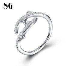 bc9e140605fab6 Buy leaf engagement ring and get free shipping on AliExpress.com
