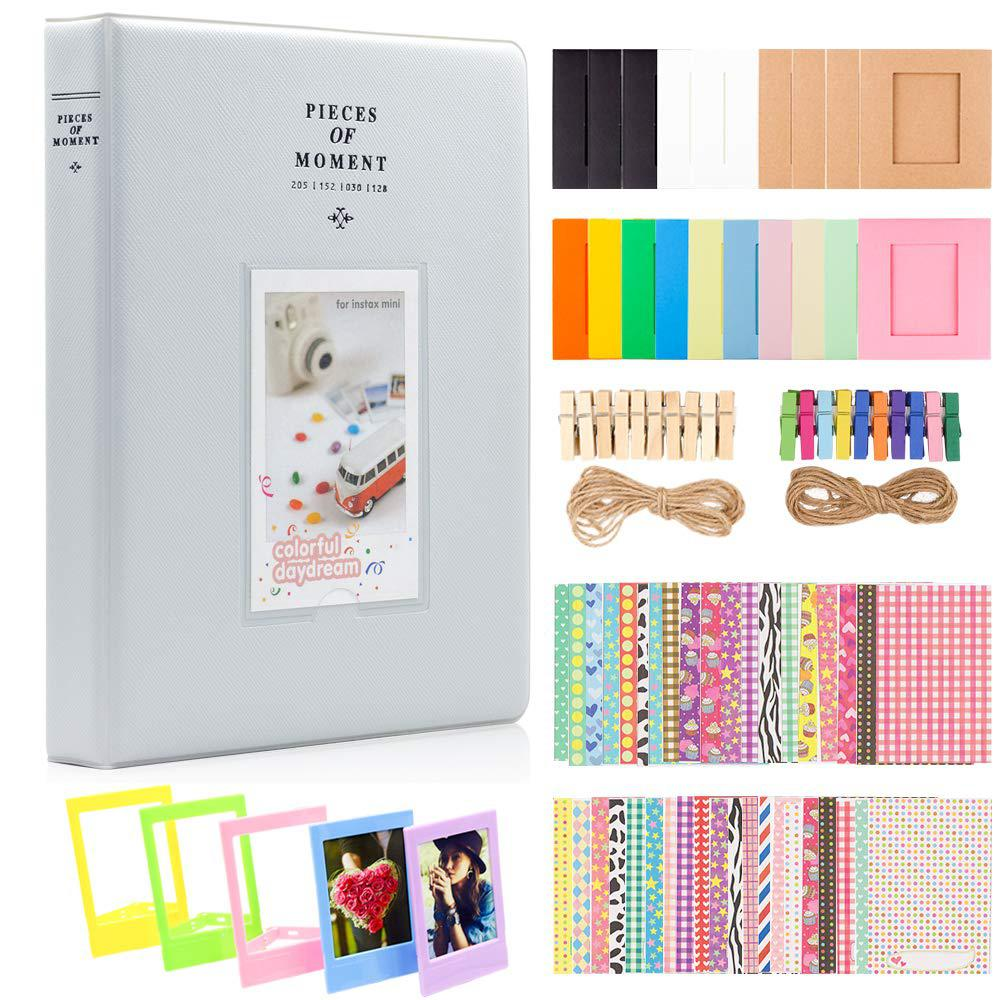 Photo Paper Film Album Set for Fujifilm Instax Mini Camera Polaroid Snap Z2300 SocialMatic Instant Cameras & Zip Instant Printer image