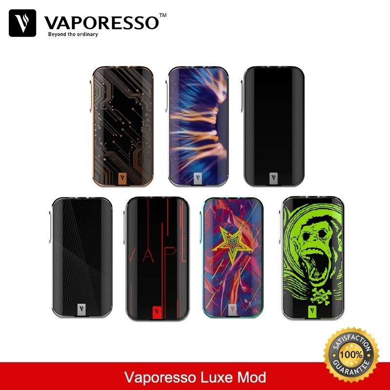 D'origine Vaporesso Luxe 220 w Mod Fit pour Skrr Réservoir 18650 TC Boîte Mods QF Maillé Bobine SK Ccell Core vaporisateur E-Cigarettes Kits