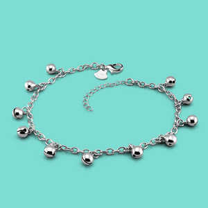 lady 925 sterling silver ankle