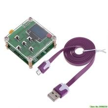 8 ГГц 1-8000 МГц OLED РЧ измеритель мощности-55to-5 дБм+ мягкое значение затухания РЧ