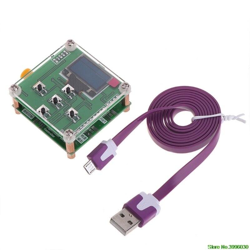 8 ghz 1-8000 mhz OLED RF Power Meter-55to-5 dBm + Téléchargements RF Atténuation Valeur