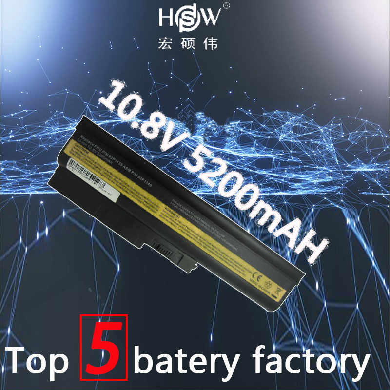 Laptop Batteries Apprehensive Hsw 10.8v 5200mah Laptop Battery For Ibm Lenovo Thinkpad R60 R60e T60 T60p R500 T500 W500 Sl400 Sl500 Sl300 Battery For Laptop 100% Guarantee