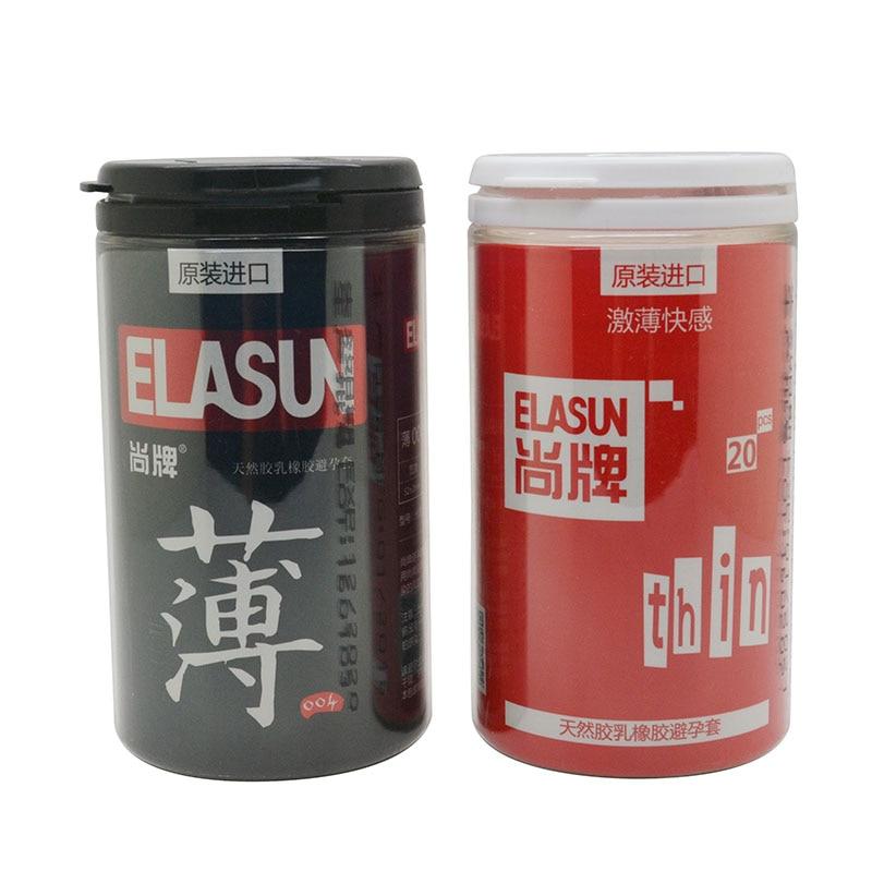 Elasun 44 Stücke 2 Arten Voll Importiert Hochwertige Ultradünne Kondome Große Öl Qualität Naturlatex Für Ihre Gummi Kondome Für Männer Ohne RüCkgabe Schönheit & Gesundheit Safer Sex
