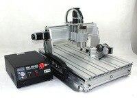 2020 Sale 4 Axis CNC Router Machine Wood Lathe 6040 CNC 1500W CNC Router Engraver Engraving Drilling Milling Machine 220V/AC