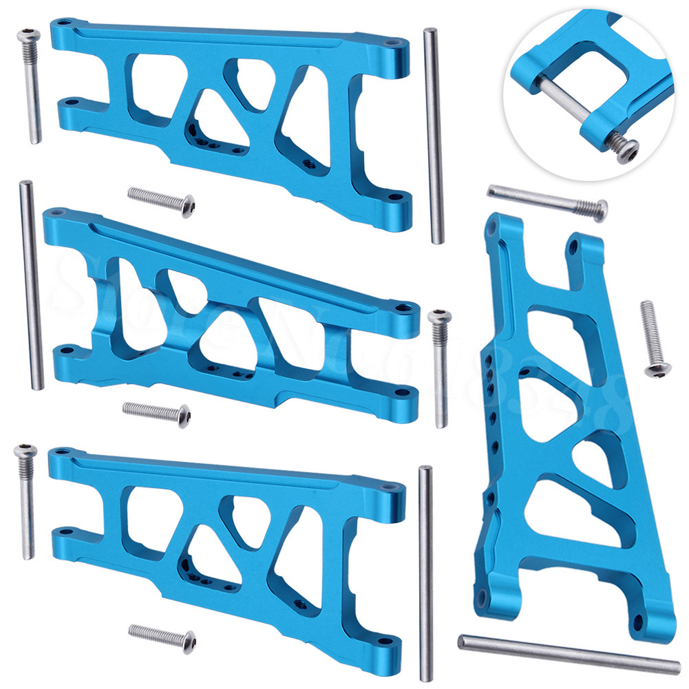 Front & Rear Aluminum Suspension Arms Replacement Of 3655x For RC Traxxas 1/10 Slash 4x4 4WD Stampede 4x4 Rally XO-1 Option
