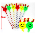 Children Small Toys Smiling Face Whistle Funny Birthday Party Horn Wholesale