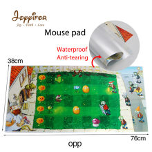 Joyyifor NEW38 * 76 Cm Plants Vs Zombies Opp Tahan Air Gaming Mouse Pad Gamer Tablet PC Keyboard Mouse Mat untuk cs Pergi Lol Game DotA(China)