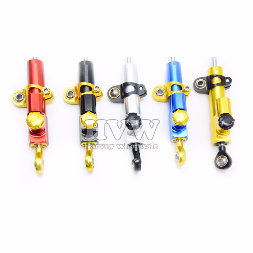 Motorcycle Accessories CNC High quality aluminum Steering Stabilizer Damper for yamaha tmax 500 t max 530   v-max 1200  V-MAX
