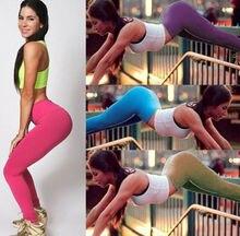 цены на High Waist Slim Skinny Women Leggings Stretchy Pants Pencil Pants  в интернет-магазинах