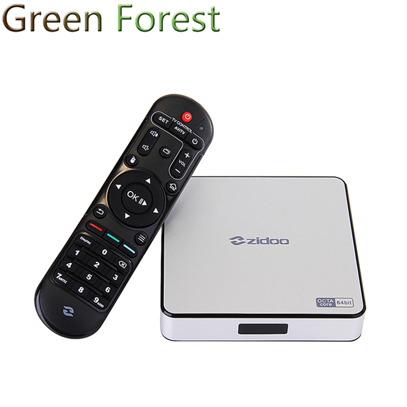 ZIDOO X6 PRO TV Box 2G 16G Android 5.1 Rockchip R3368 Wifi Bluetooth4.0 1000M Ethernet Gigabit LAN