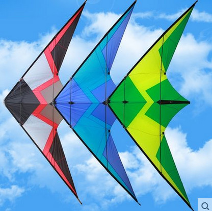 free shipping high quality 2.5m roar to the sky dual line stunt kite outdoor flying toy nylon ripstops large kite surf octopus 2 5m huge dual line control soft frameless stunt parafoil flying kite plaid cloth made with 2 line board and 2 x 40m line
