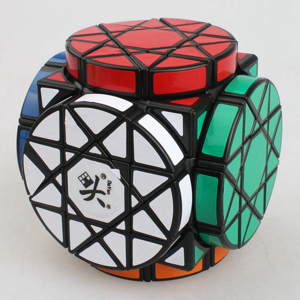 Brand New Dayan Wheel of Wisdom Rotational Twisty Magic Cube Speed Puzzle Cubes Toys for kid Children dayan gem vi cube speed puzzle magic cubes educational game toys gift for children kids grownups