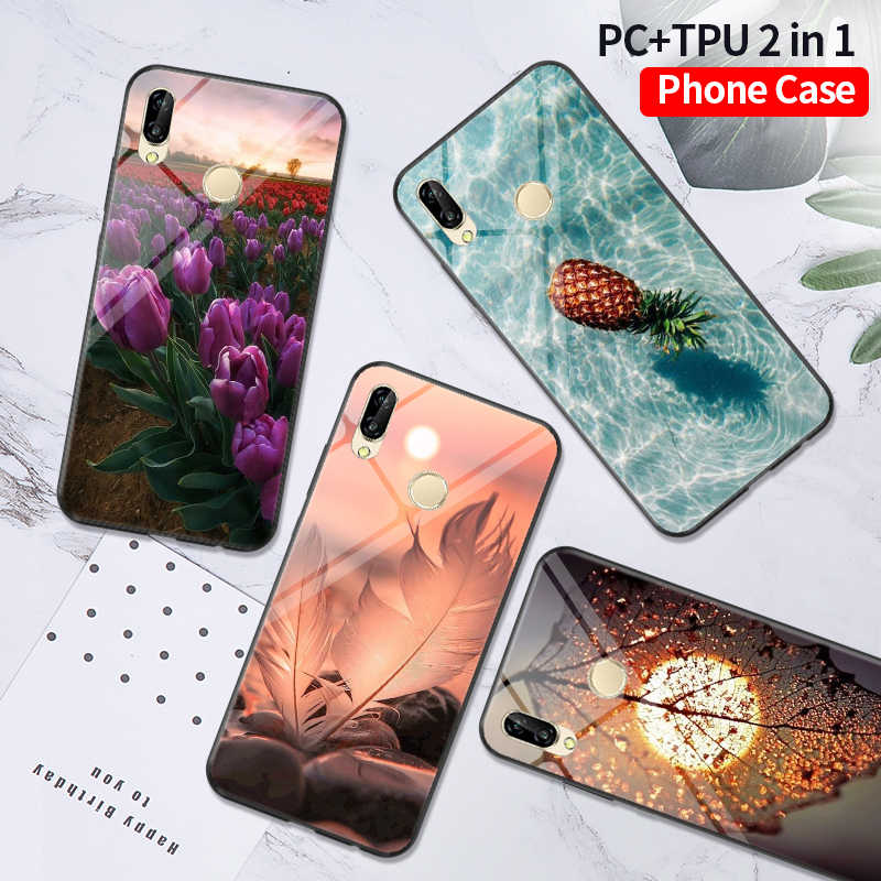 PC + TPU Case FOR Huawei Honor 10 10i 9 Lite 7C 7A PRO 8X 8S Case Phone Cover Honor 20 PRO Case Funda Honor 8A Capa Honor 8C