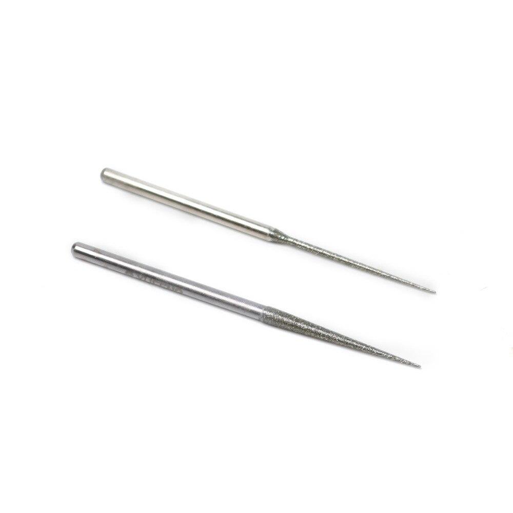 1 шт. Лидер продаж больше острым иглы алмазные шлифовальные головки 3 мм диаметр ручки 1.5 мм 3 мм Диаметр шлифовального голова абразивный инст...