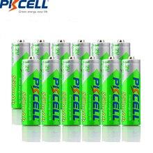 20PCS PKCELL AAA Batterij 1.2 Volt Ni Mh 850mAh AAA Oplaadbare Batterij Batterijen NIMH 3A Bateria Baterias VOOR REMOTE CONTROLE