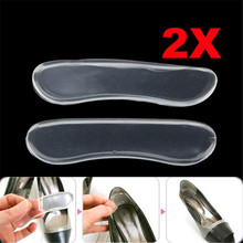 1 Pair Soft Silicone Gel Heel Shoe Pads Cushion Protector Sh