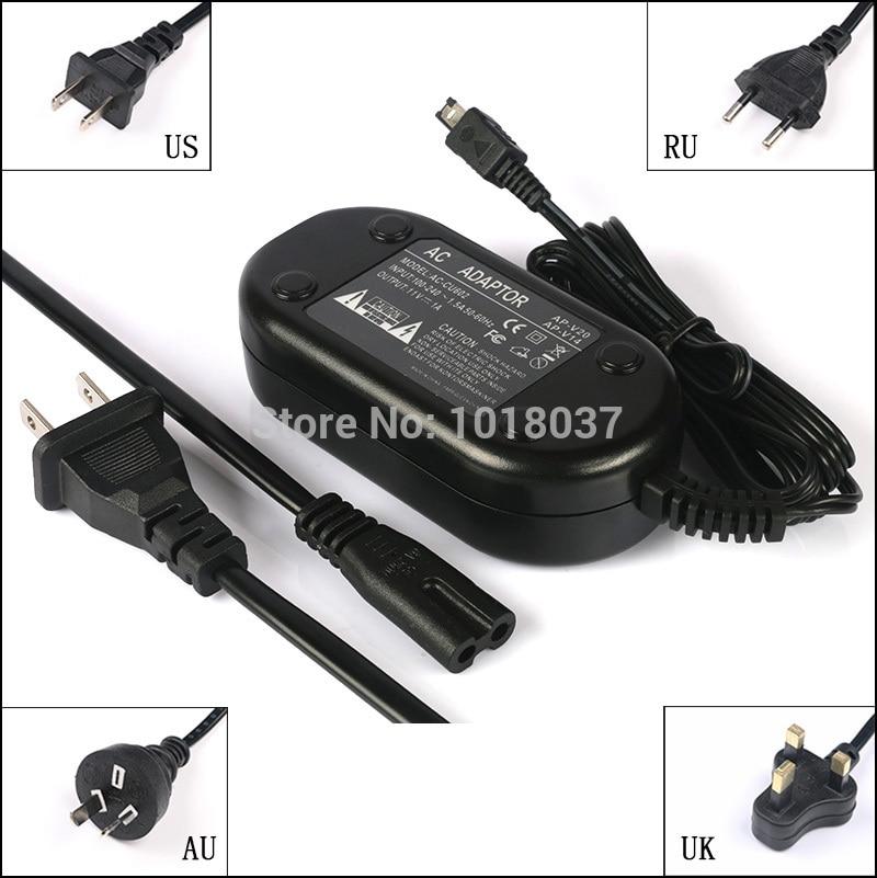 Extra Long 6.5 Ft Cord AC//DC Adapter Charger for JVC Everio Digital Camera Camcorder GZ-E200 GZ-E10 GZ-EX215 GZ-EX210 GZ-EX250 GZ-V500 GZ-E100 GZ-E300 GZ-EX310 GZ-EX355 AC-V11U Wall Barrel Plug