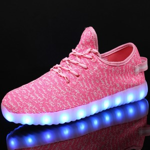 Image 3 - Men Women Children USB Charger Led Light Shoes Unisex Casual Sports for Kids & Adult Fashion Boys & Girls Sneakers Lace Up Shoe