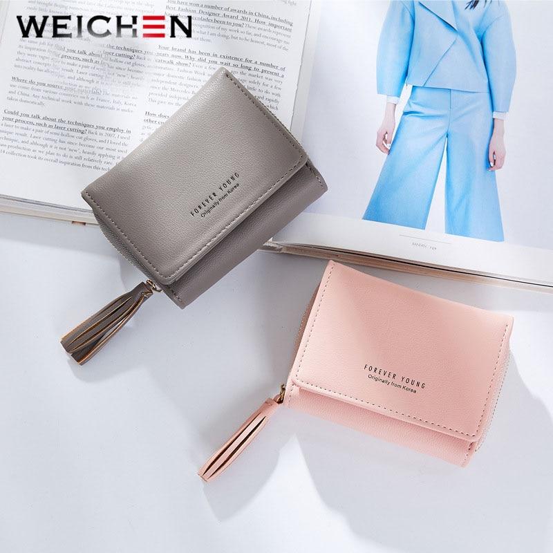 Weichen borla colgante de las mujeres carteras con cremallera Coin - Monederos y carteras - foto 5