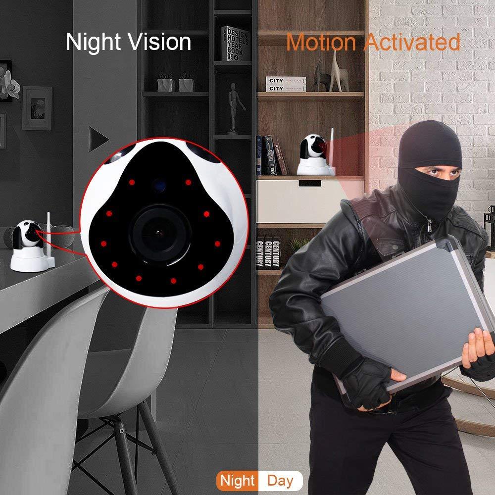 YYZ100SS-SNB caméra réseau petit chien bébé Mornitor HD sécurité à domicile Wifi sans fil intelligent téléphone Machine de surveillance à distance - 5