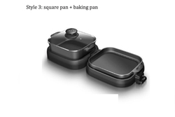 oven Electric bake pan Hot pot Household appliance Barbecue pan Independent temperature control