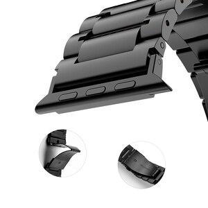 Image 4 - HOCO נירוסטה רצועת השעון סיכות שחרור עבור אפל שעון 44 mm קישור צמיד החלפת רצועת השעון עבור iwatch Serise 4