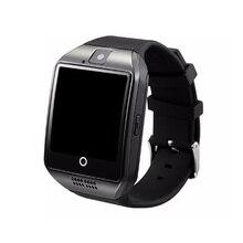 Q18 smart watchบลูทูธs mart w atchกับกล้องsnyc twitter facebookเครื่องเล่นMP3ซิมTFสำหรับios a Ndroid p hone VS DZ09 GT08