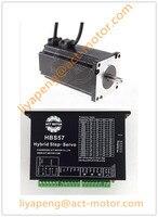Замкнутого цикла шагового привода контроллер и NEMA23 двигатели 2.2N.M ЧПУ комплект