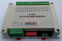 M 2001 Modbus based 16 channel collector open circuit output module (transistor) plug and pull terminal