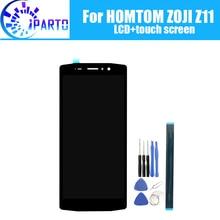 HOMTOM ZOJI Z11 LCD 디스플레이 + 터치 스크린 HOMTOM ZOJI Z11 용 100% 오리지널 테스트 LCD 디지타이저 유리 패널 교체