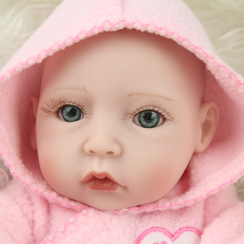 10 Inch Full Body Silicone Baby Dolls Mini Reborn Dolls Babies Child Like Love Dolls For Sale10 Inch Full Body Silicone Baby Dolls Mini Reborn Dolls Babies Child Like Love Dolls For Sale