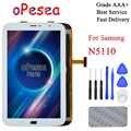 OPesea Für Samsung Galaxy Note 8 GT-N5100 N5110 Full Touch Screen Digitizer Mit LCD Display Panel Glas Montage ersatz