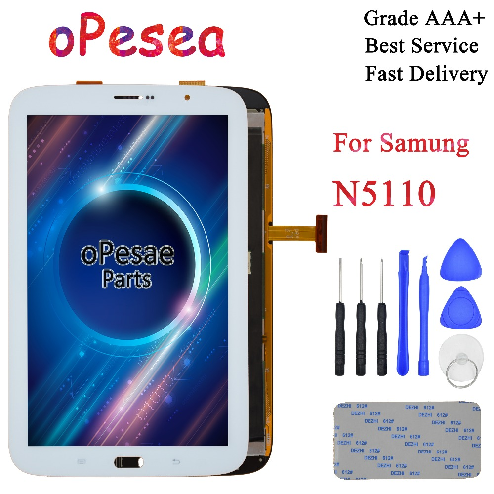 OPesea For Samsung Galaxy Note 8 GT- N5100 N5110 Full Touch Screen Digitizer With LCD Display Panel Glass Assembly Replacement