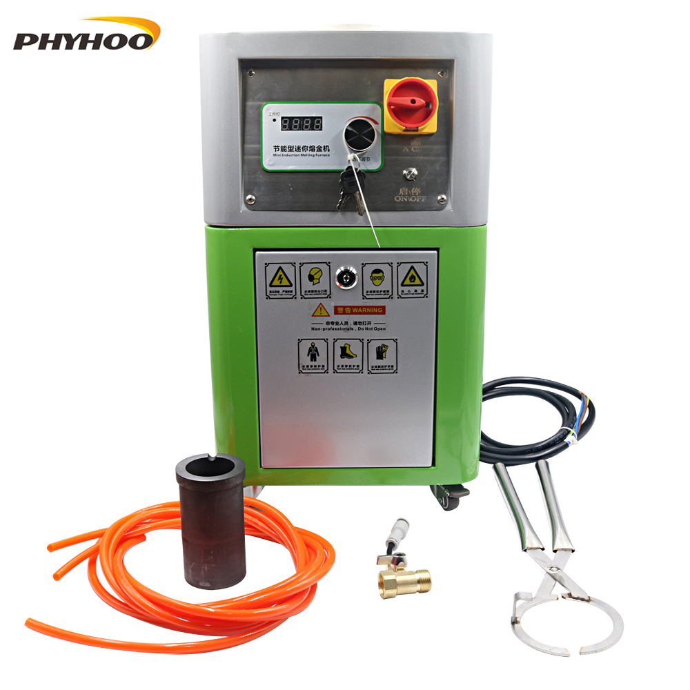 Metal Melting Furnace Medium Frequency Melting Furnace Gold, Silver And Copper Small Experimental Melting Machine Iron And Steel