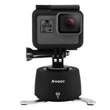 Professional 360 Degrees Time Lapse Head Dslr Rotator Tripod head for Gopro Hero 5 3 4 Session Yi 4k SJCAM Camera For Phone