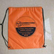 Оптовая Продажа 1000 шт./лот пользовательские легкий рюкзак на шнурке для выставки