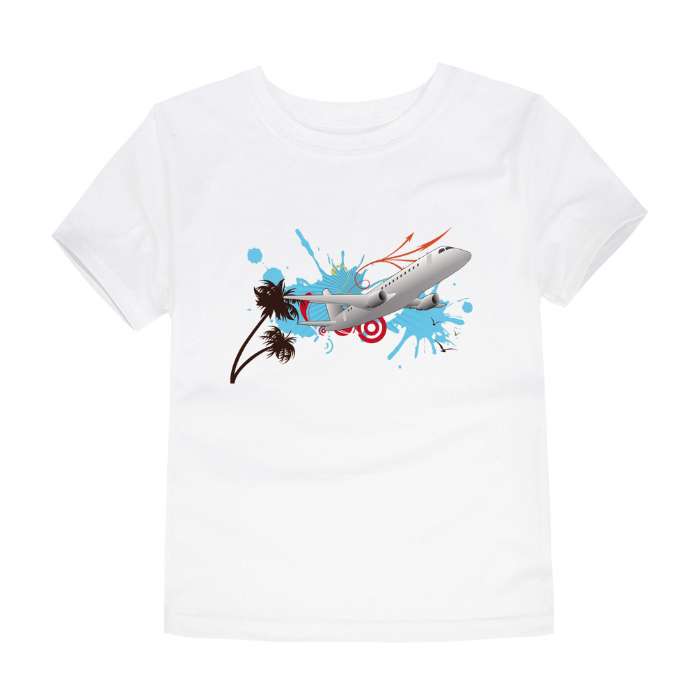 HTB1c.pNQVXXXXa XVXXq6xXFXXXh - CHUNJIAN 2017 children t shirts for girls boys cotton t shirt girls T-Shirt kids t shirts summer Tops & Tees kids plane shirt