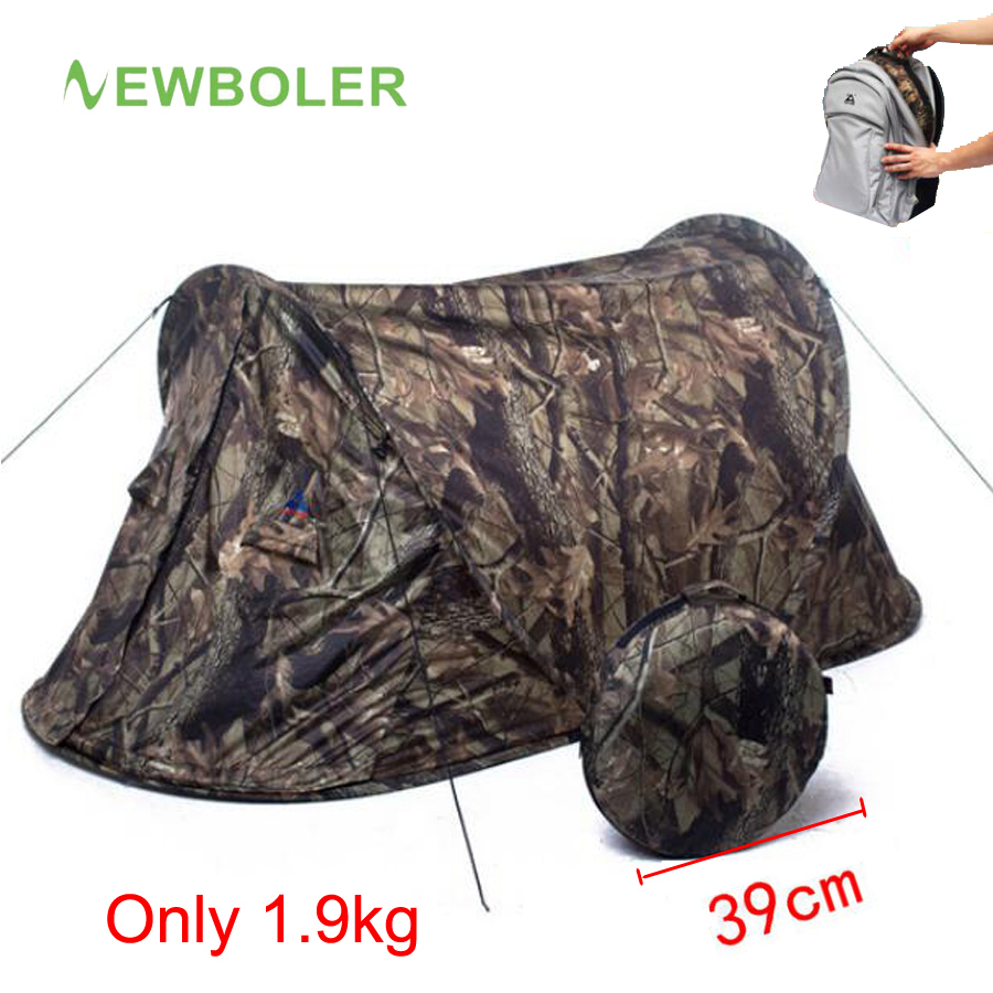 Ultralight Camouflage Camping Hunting Tent (2)