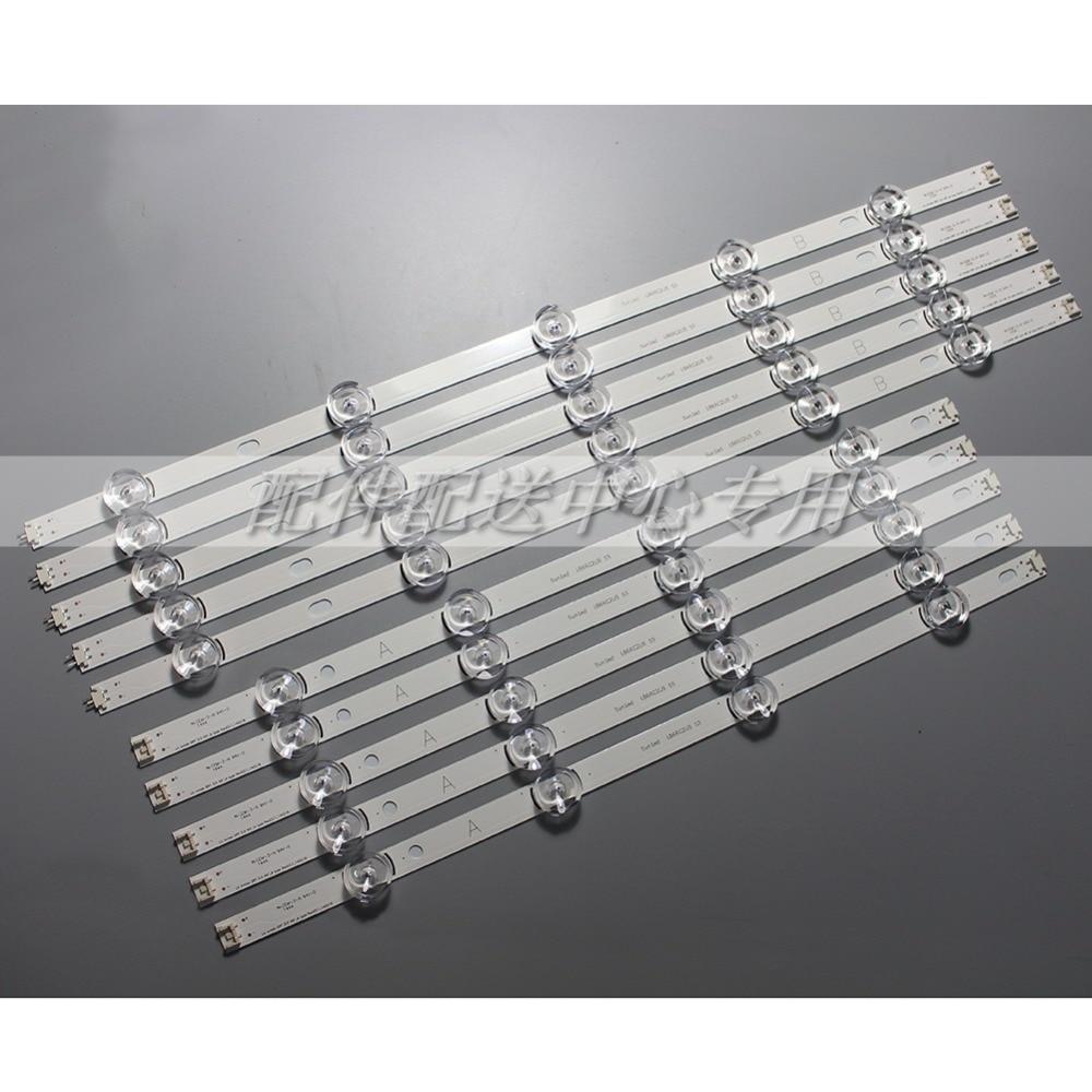 10pcs x 49 inch LED Backlight Strip for 49LB620V Innotek DRT 3 0 49 49LB552 49LB629V