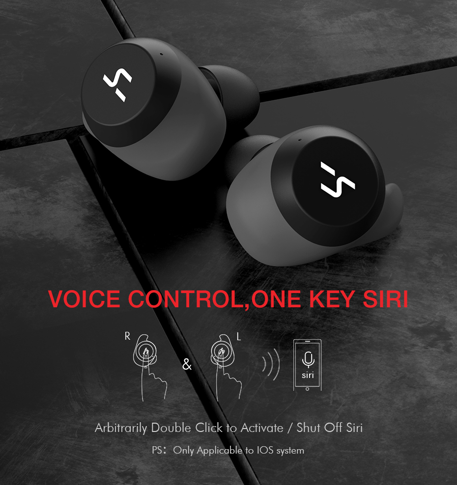 91f1956adcd HAVIT TWS Bluetooth Earphone True Wireless Sport Earphone Waterproof ...