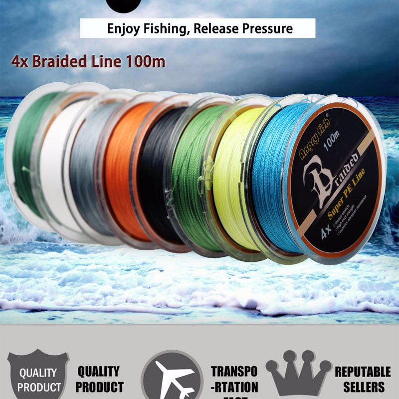 Angryfish High Quality Braided Fishing Line 8