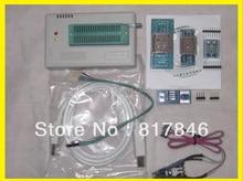 Freies Verschiffen Russisch & englisch software V6.5 TL866A Hohe qualität MiniPro BIOS USB Universal Programmer + 4 adapter + IC SOIC8 Clip