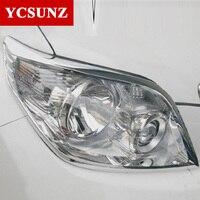 Scheinwerfer Abdeckung Trim Für Toyota Land Cruiser Prado Fj150 LC150 2011 2012 2013-in Chrom-Styling aus Kraftfahrzeuge und Motorräder bei